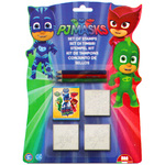 Multiprint PJ Masks risalni set, 3 žigi