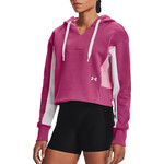 Under Armour Pulover Rival Fleece EMB Hoodie-PNK M