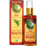 """Badger Balm Ginger Deep Tissue masažno olje - 118 ml"""
