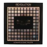 Makeup Revolution London Ultimate Iconic 144 paletka 144 senčil za oči 90 g